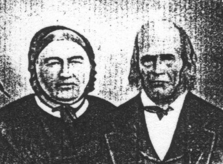 Christian Hirtzel Jr. and Salome Beyer
