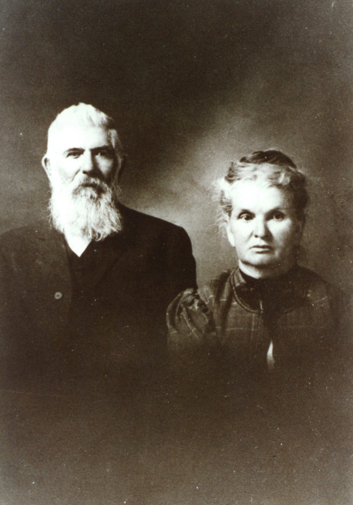 "Edward Wing ""Doc"" Huson and Clarissa Pettingell"