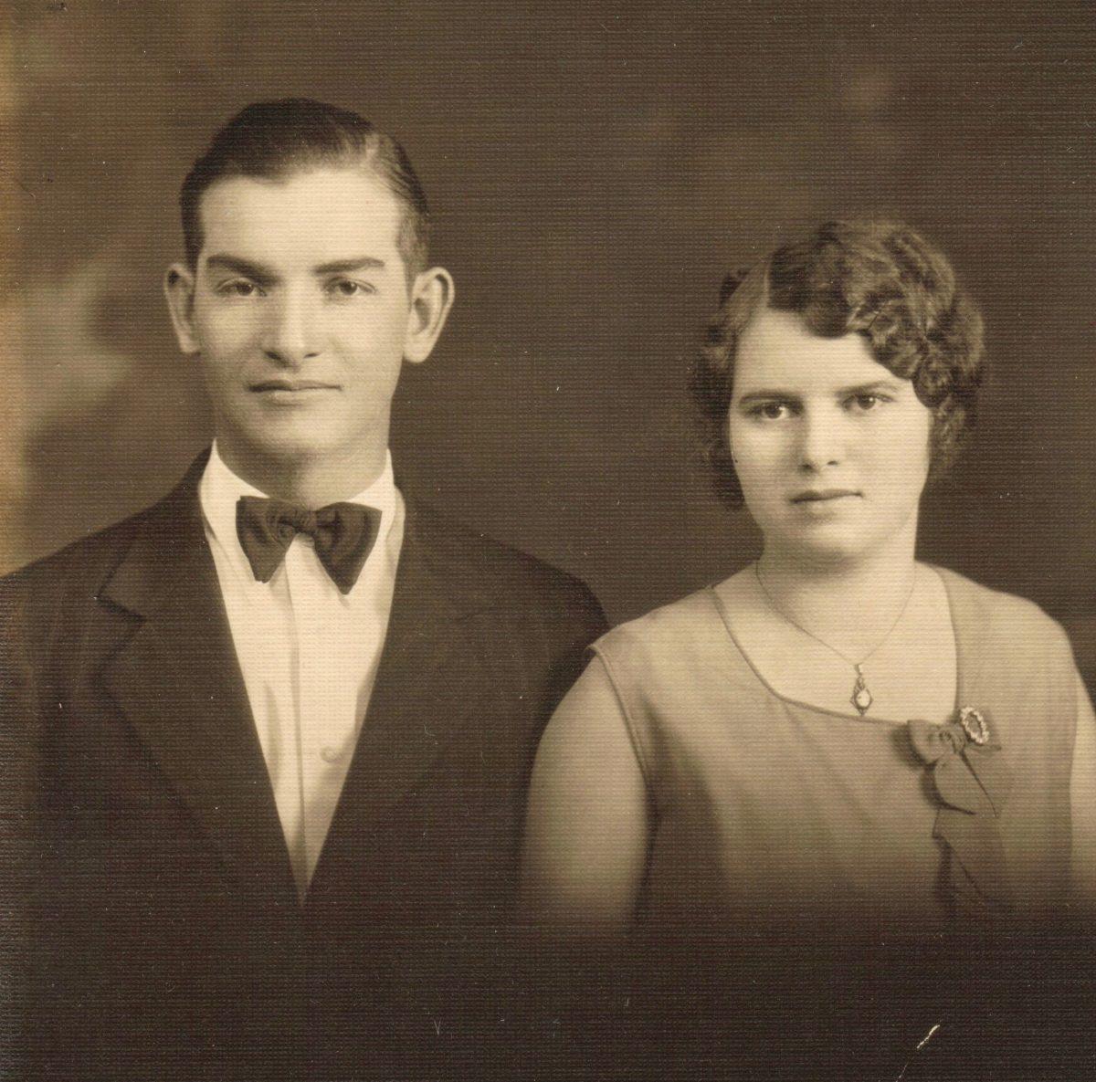 Carl Gahimer and Mabel Wagoner