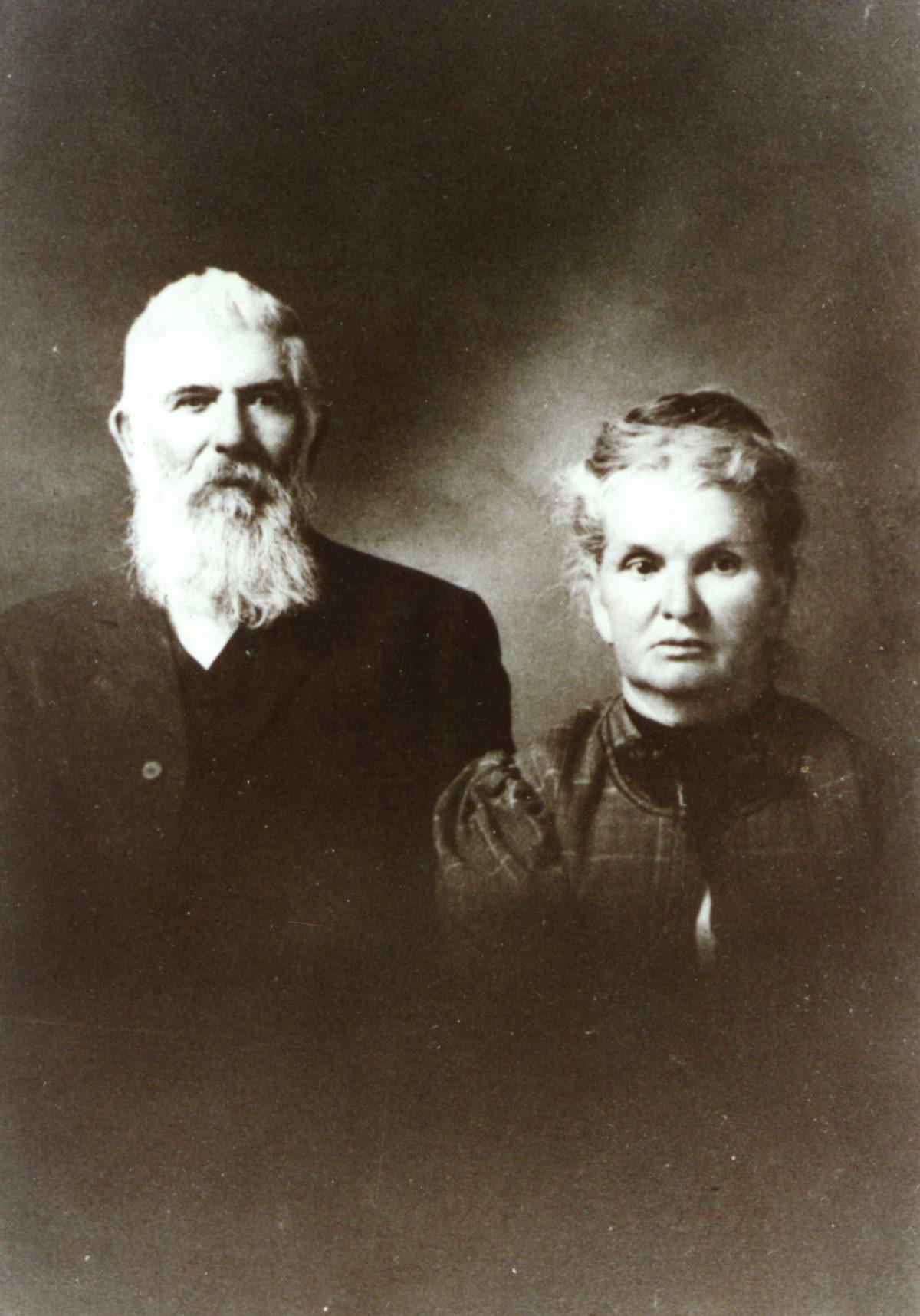 "Edward Wing ""Doc"" Huson and Clarissa Pettingell"