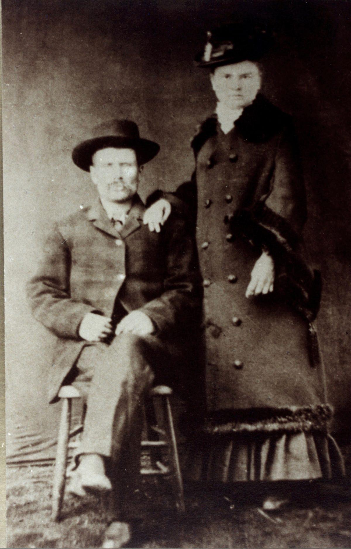 Ephraim Ford and Hattie (Kate) Huson